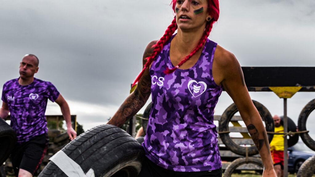 Mud race challenge